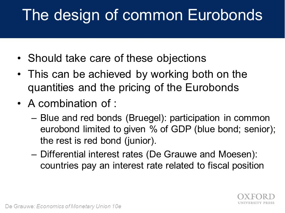 The design of common Eurobonds