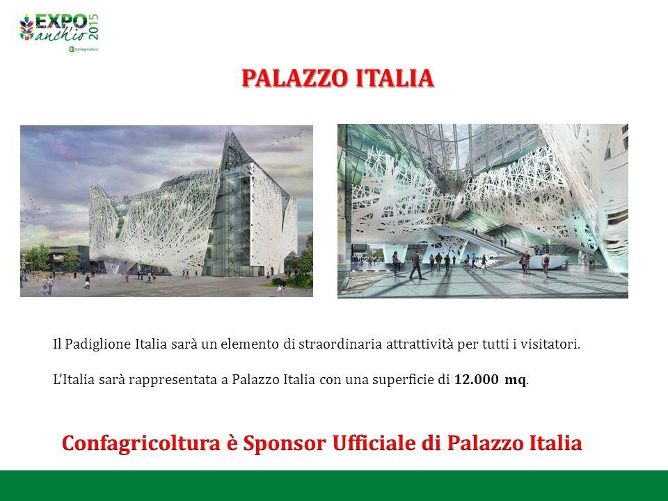 Confagricoltura è Sponsor Ufficiale di Palazzo Italia