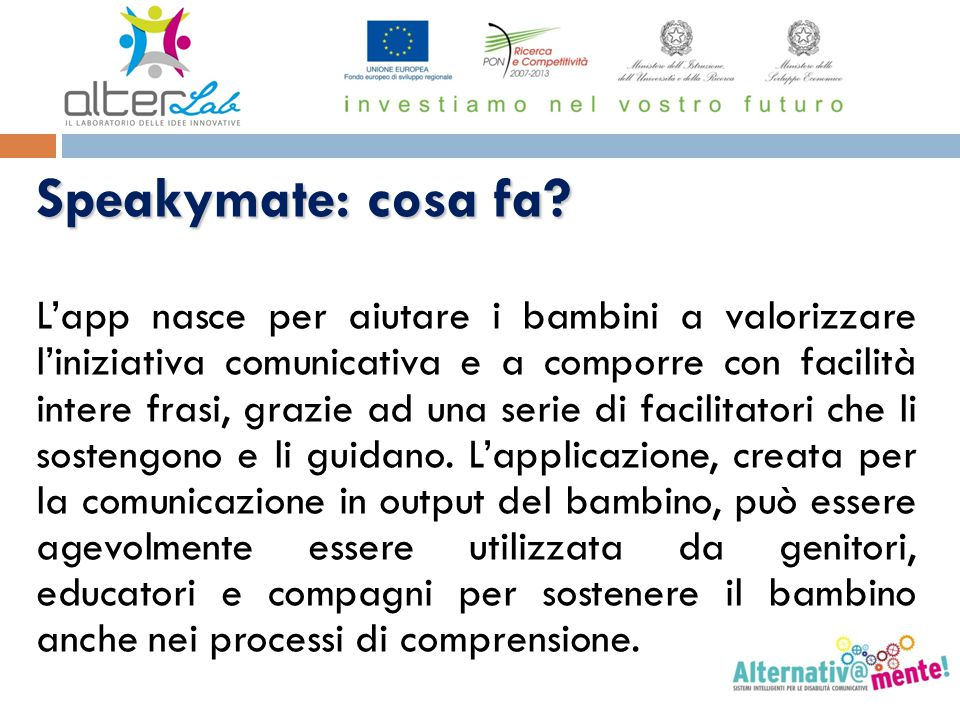 Speakymate: cosa fa