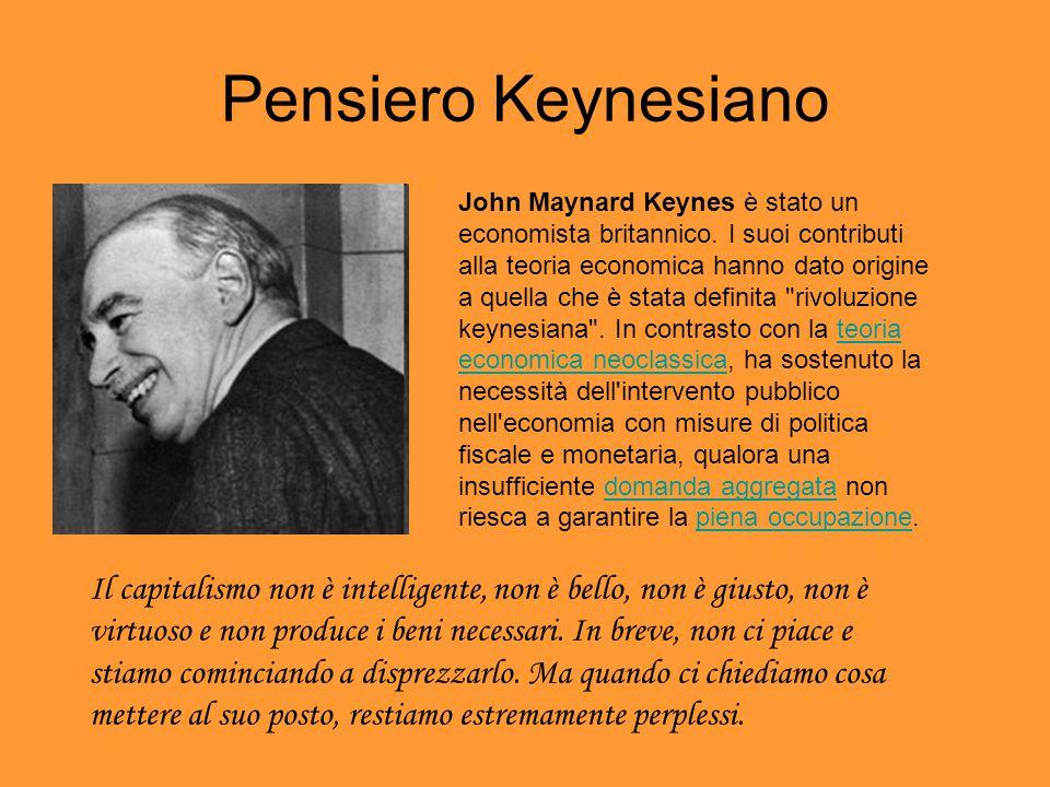 Pensiero Keynesiano