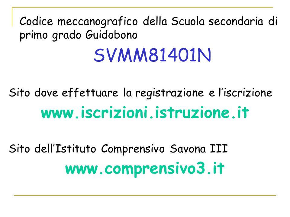 www.iscrizioni.istruzione.it www.comprensivo3.it