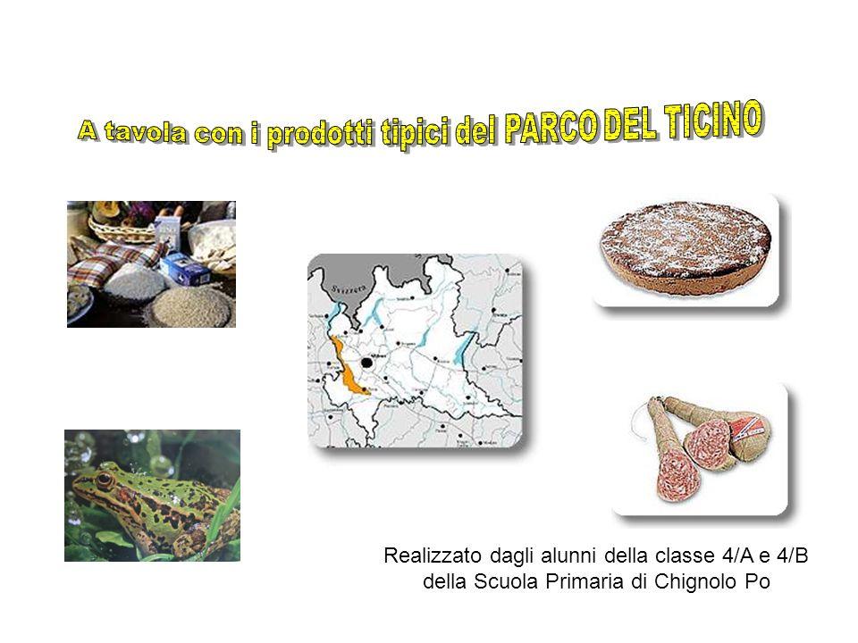 A tavola con i prodotti tipici del PARCO DEL TICINO