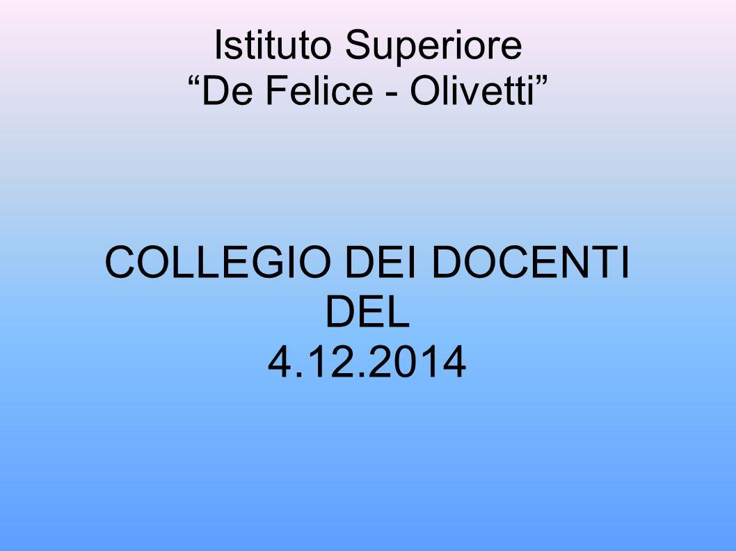 Istituto Superiore De Felice - Olivetti