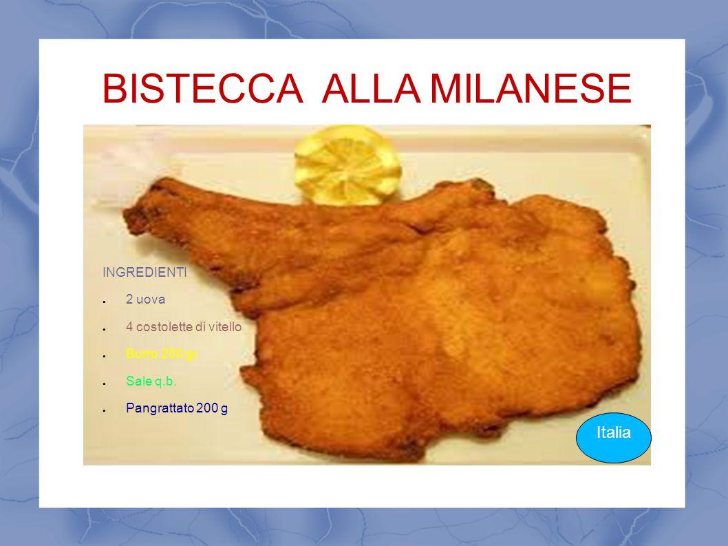 BISTECCA ALLA MILANESE