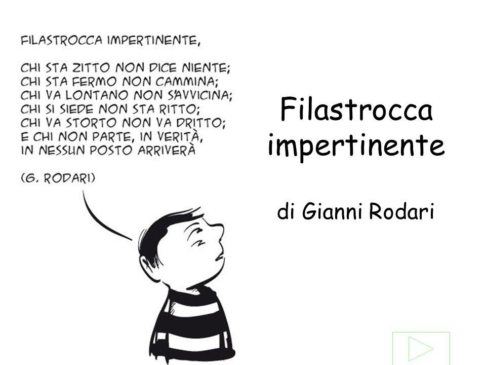 Filastrocca impertinente di Gianni Rodari