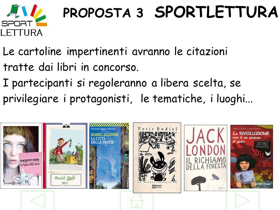 PROPOSTA 3 SPORTLETTURA