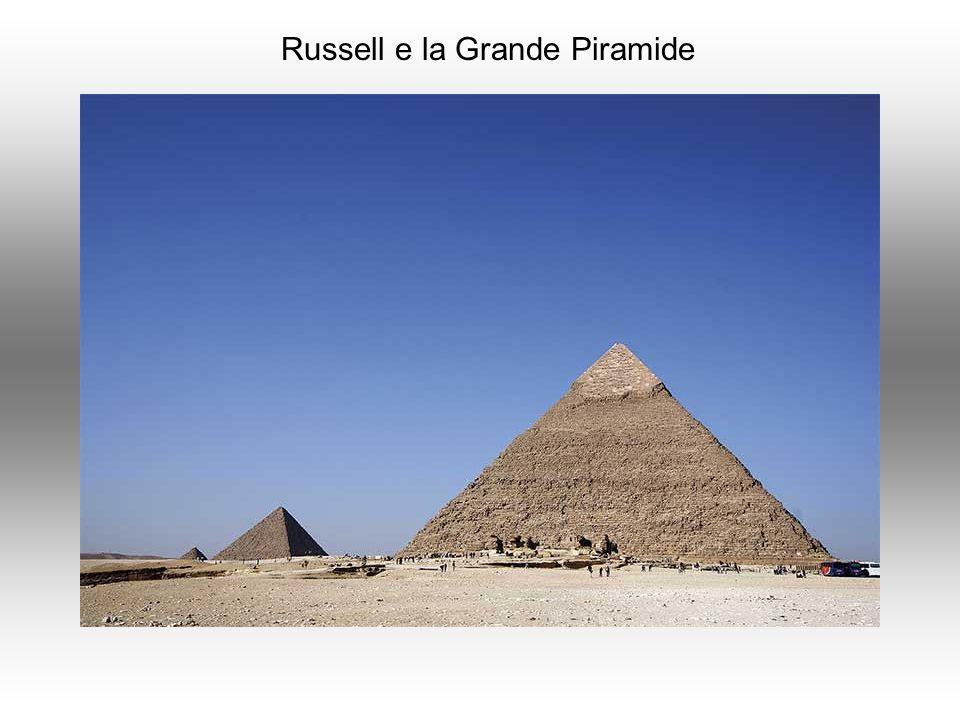 Russell e la Grande Piramide