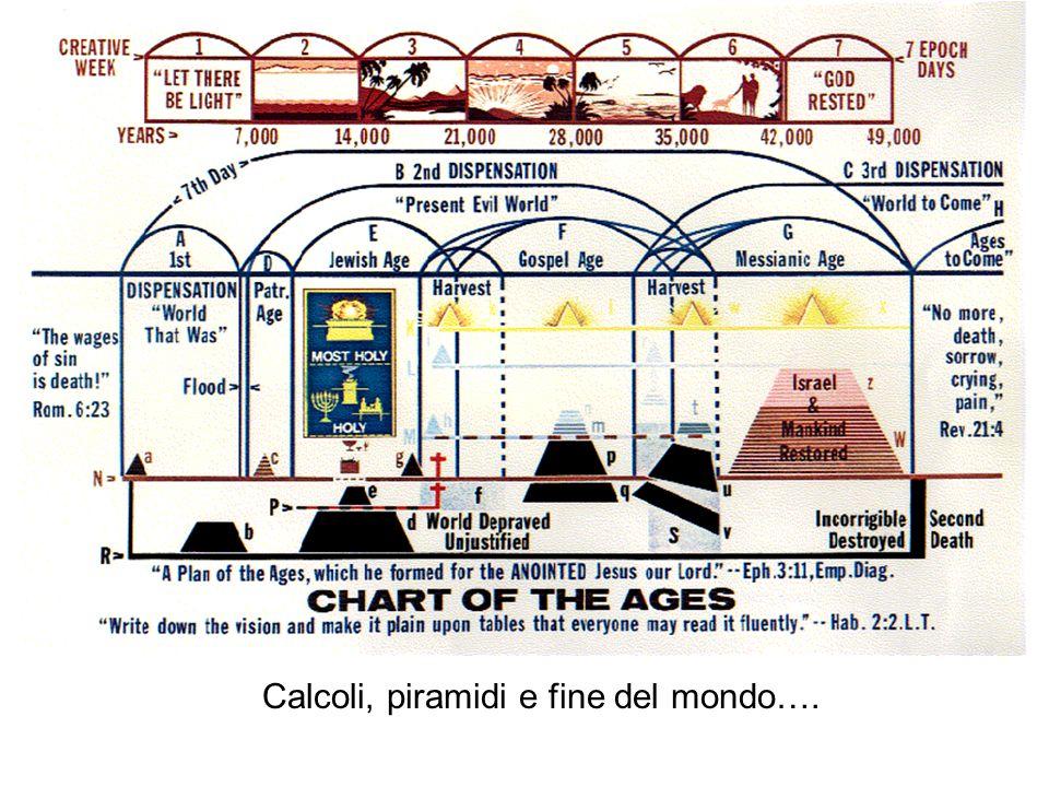 Calcoli, piramidi e fine del mondo….
