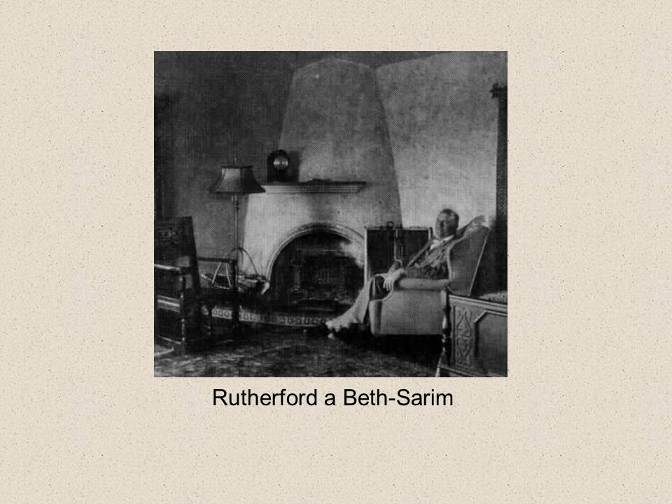 Rutherford a Beth-Sarim