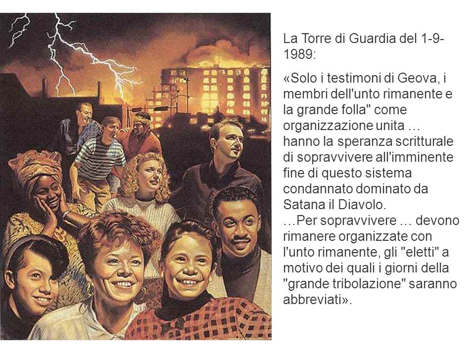 La Torre di Guardia del 1-9-1989: