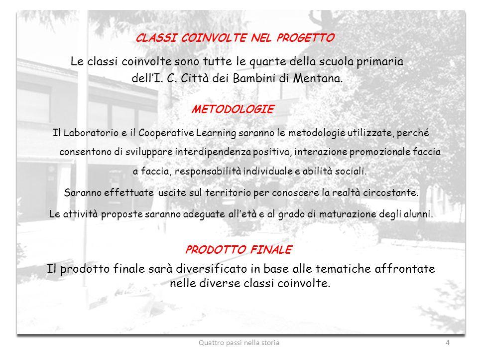 CLASSI COINVOLTE NEL PROGETTO