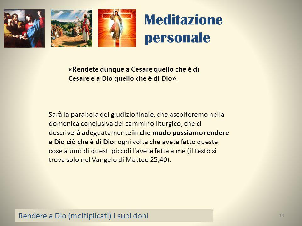 Meditazione personale
