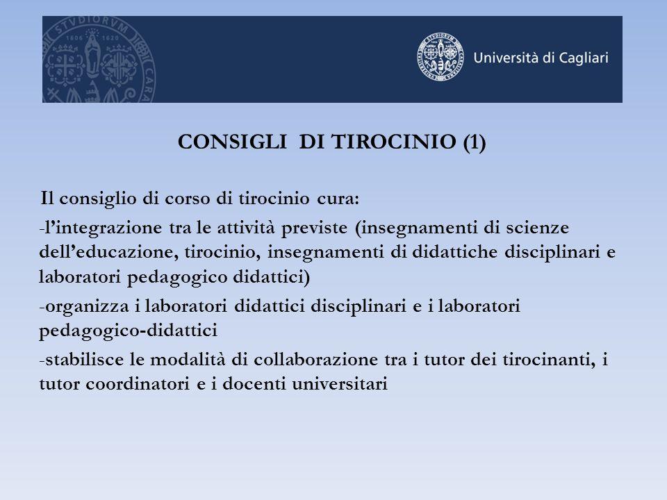 CONSIGLI DI TIROCINIO (1)