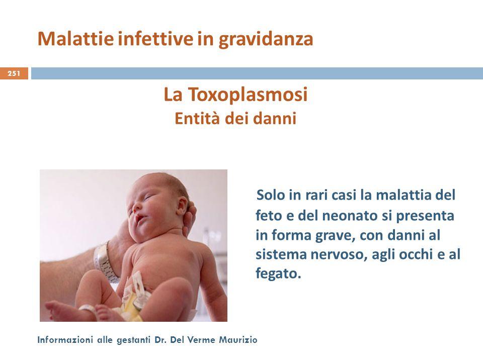 Malattie infettive in gravidanza