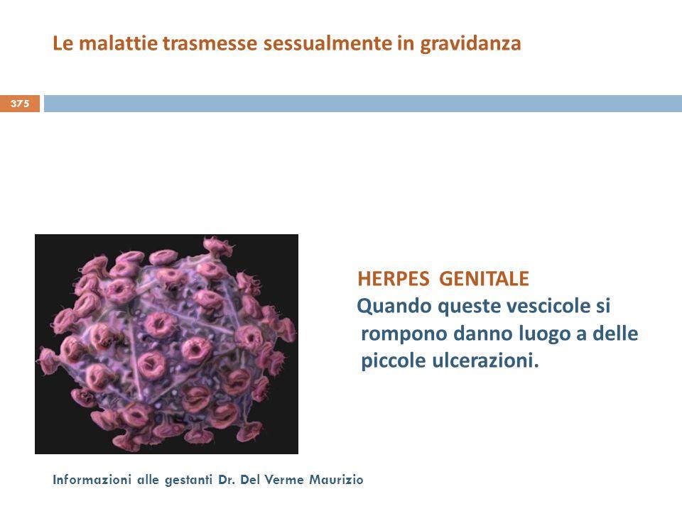 Le malattie trasmesse sessualmente in gravidanza