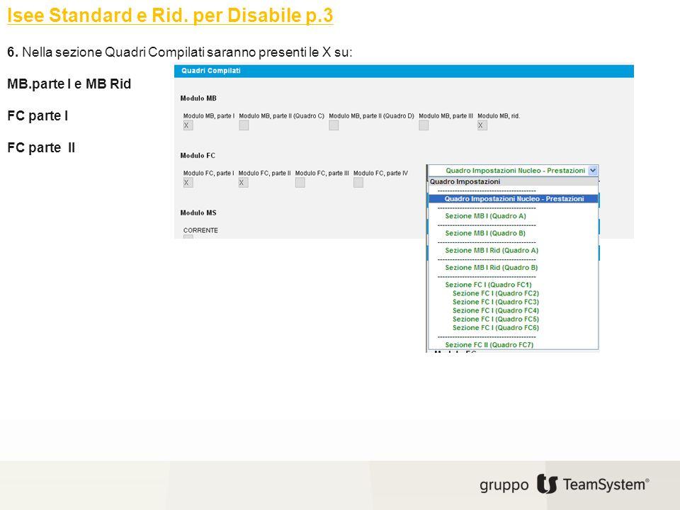 Isee Standard e Rid. per Disabile p.3