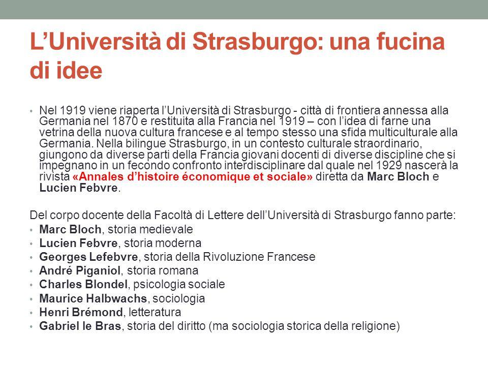 L'Università di Strasburgo: una fucina di idee