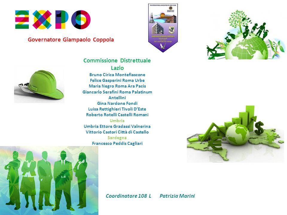 Governatore Giampaolo Coppola Coordinatore 108 L Patrizia Marini