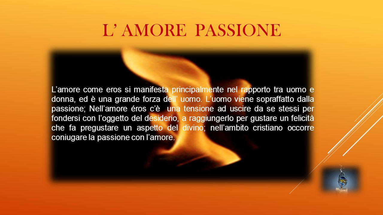 l' amore passione