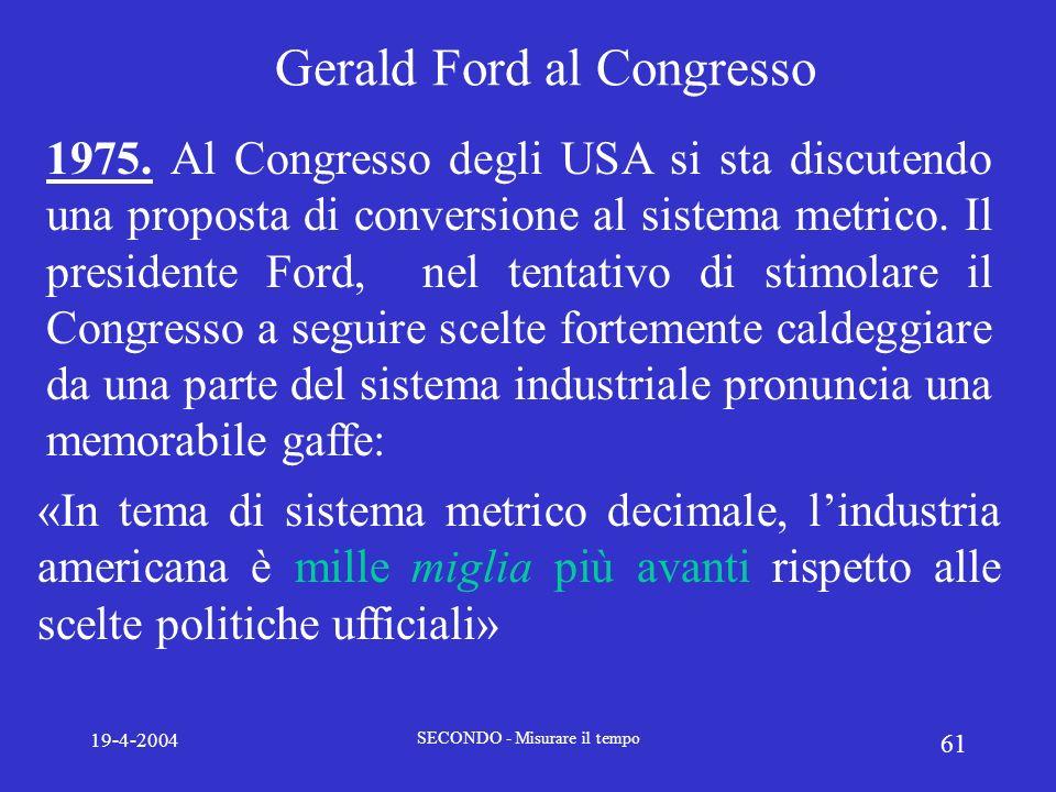 Gerald Ford al Congresso