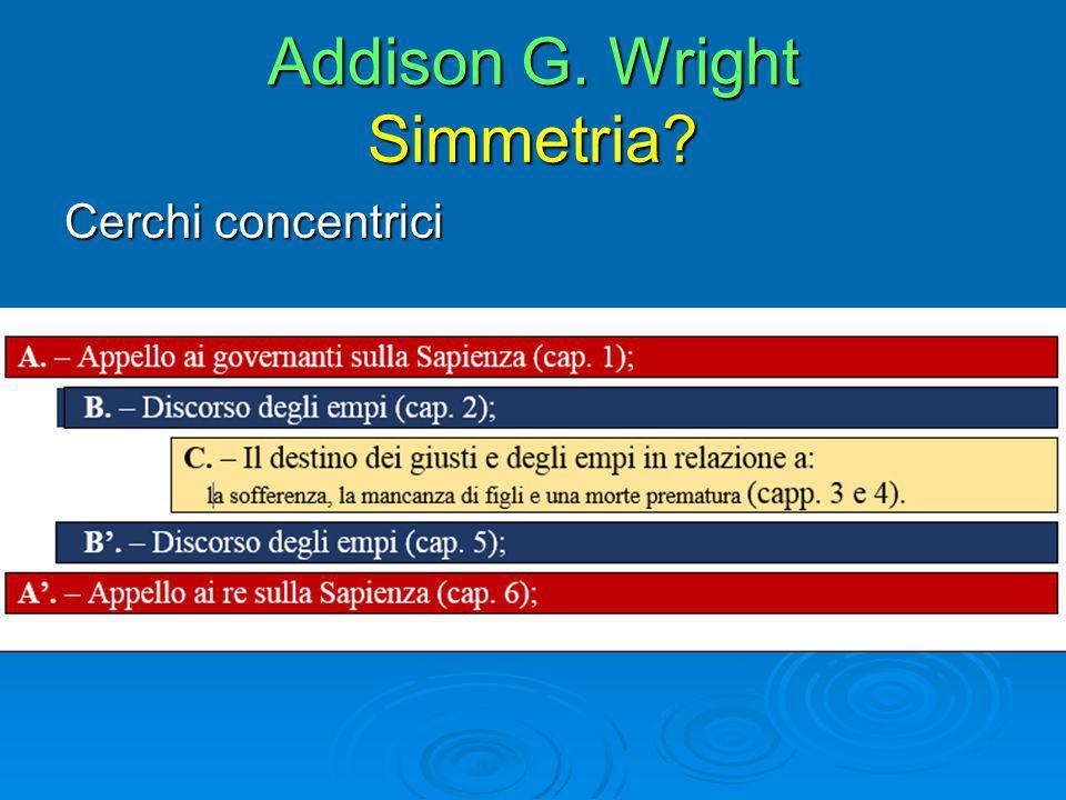 Addison G. Wright Simmetria