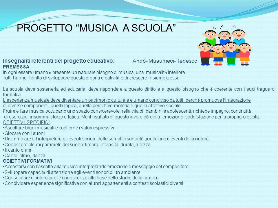 2 istituto comprensivo s g bosco i nostri progetti for Compositore tedesco della musica da tavola