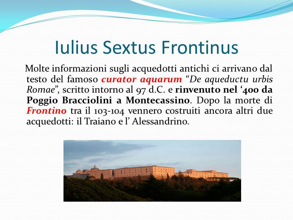 Iulius Sextus Frontinus