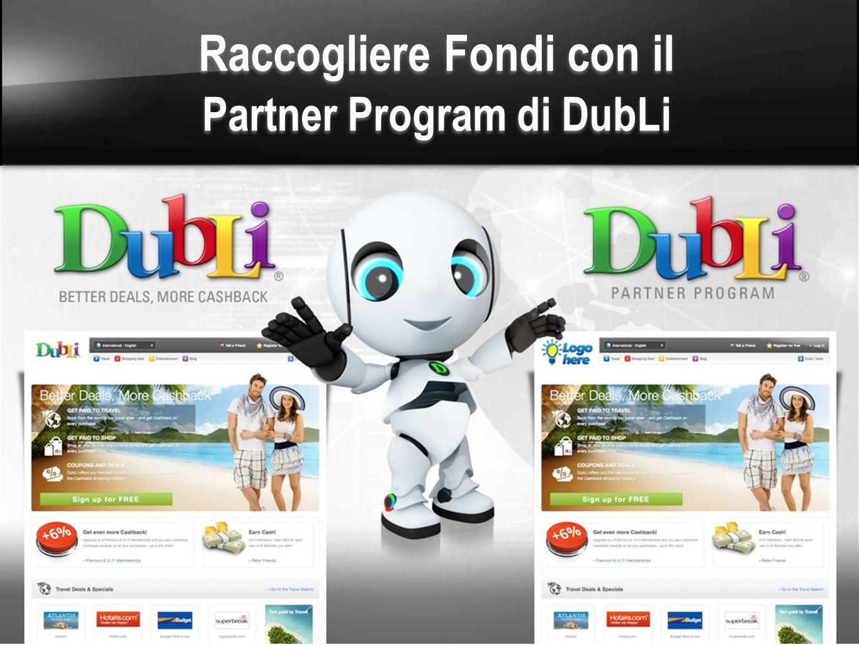 Raccogliere Fondi con il Partner Program di DubLi
