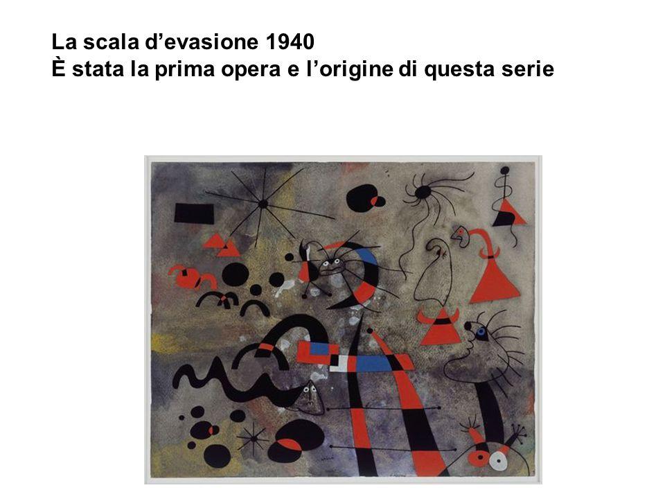 La scala d'evasione 1940 È stata la prima opera e l'origine di questa serie