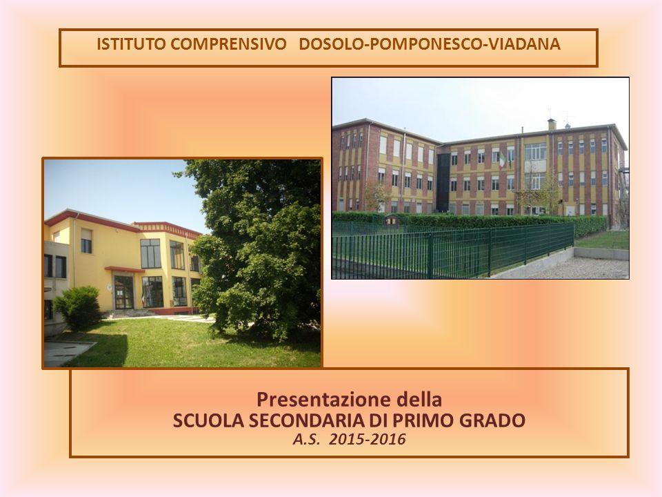 Presentazione della SCUOLA SECONDARIA DI PRIMO GRADO