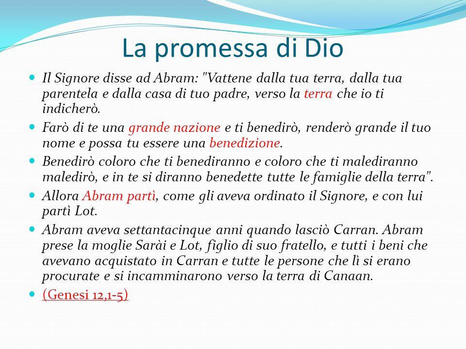 La promessa di Dio