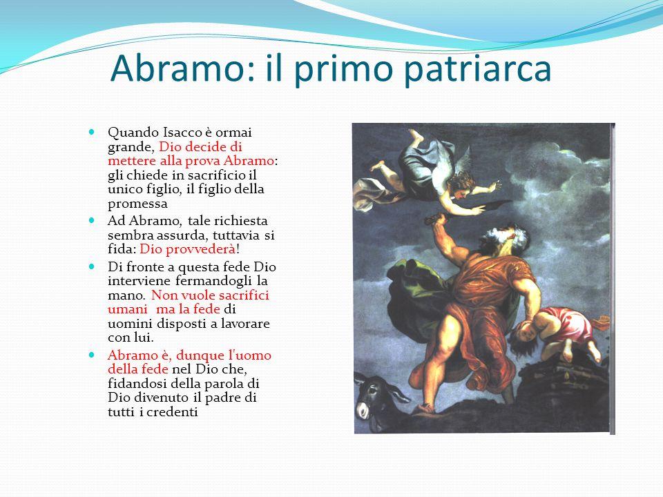 Abramo: il primo patriarca