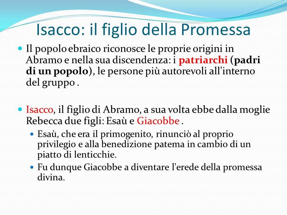 Isacco: il figlio della Promessa