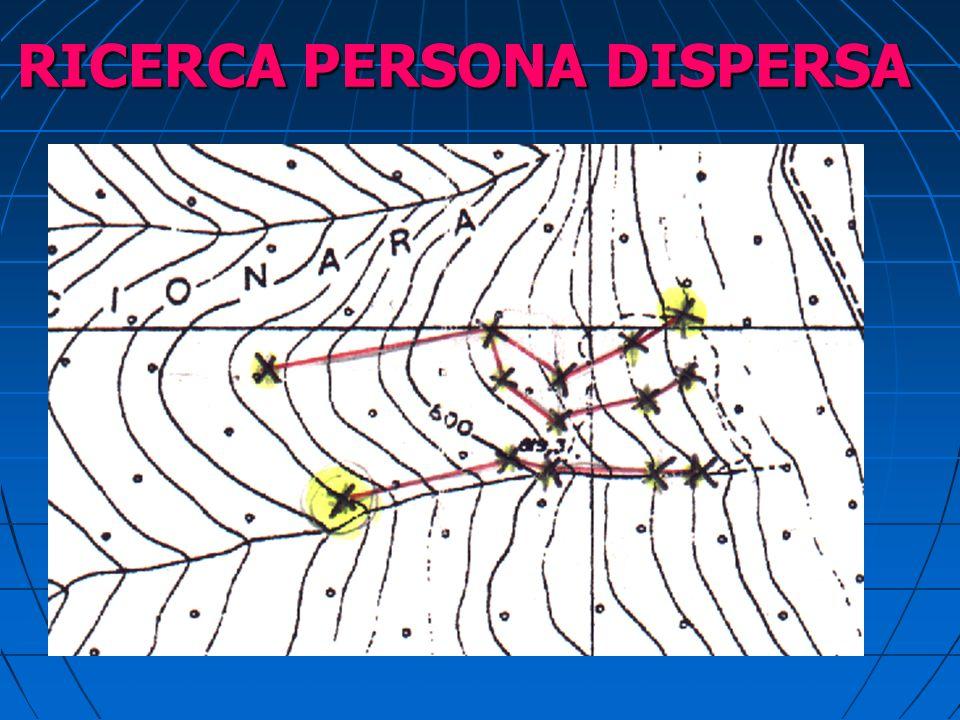 RICERCA PERSONA DISPERSA