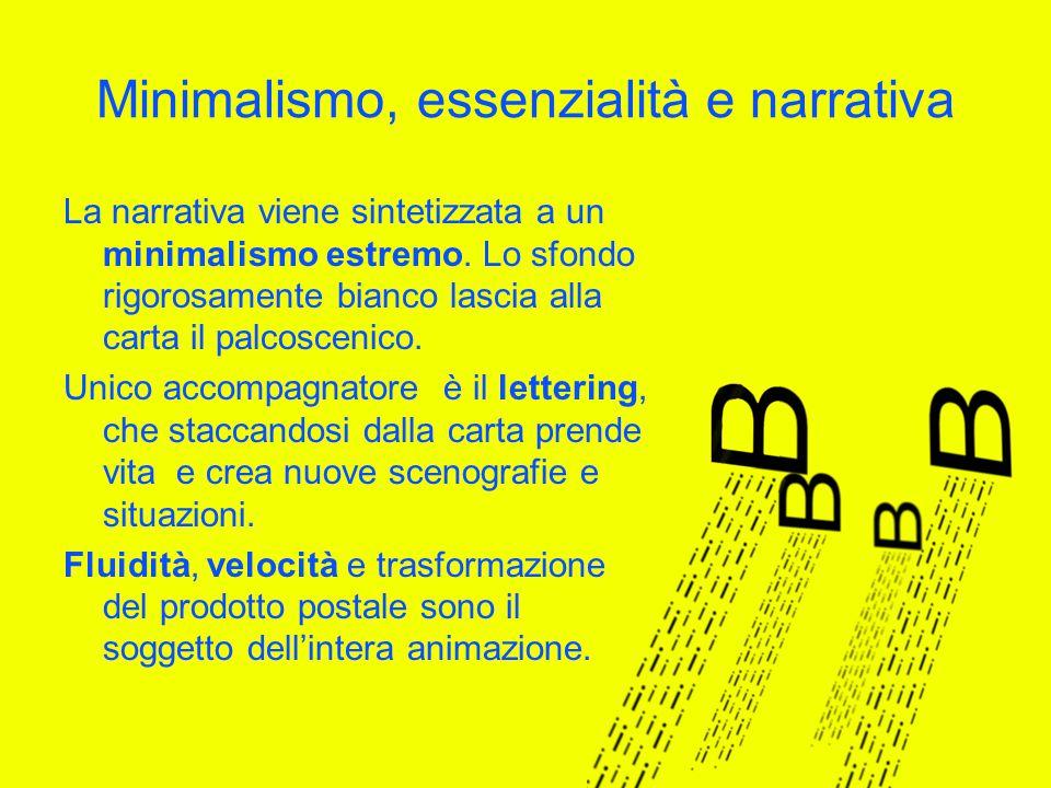 Minimalismo, essenzialità e narrativa