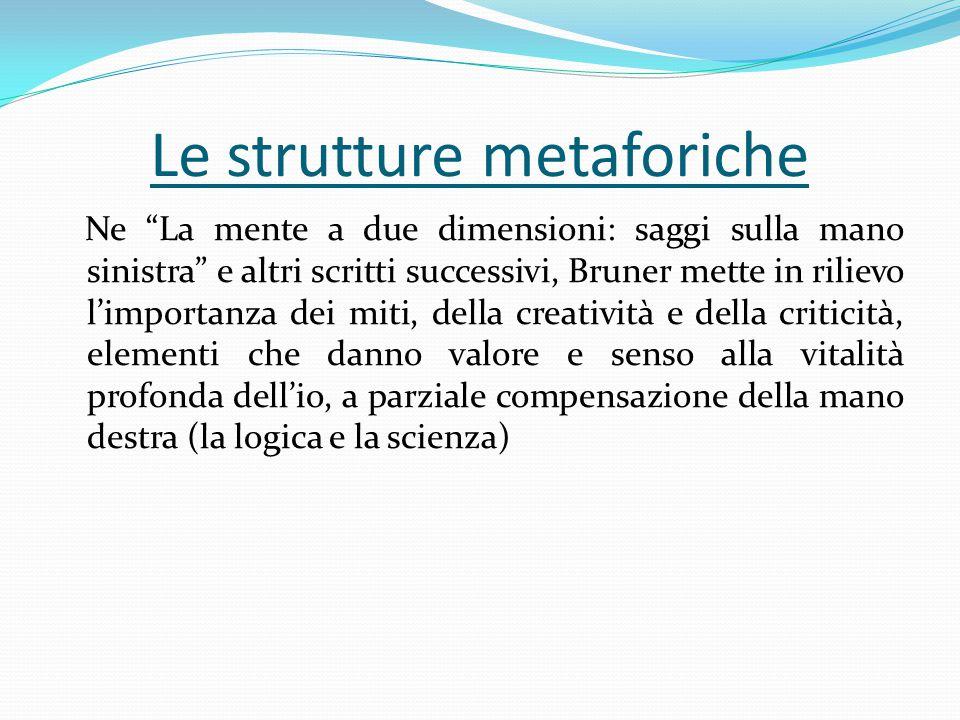 Le strutture metaforiche