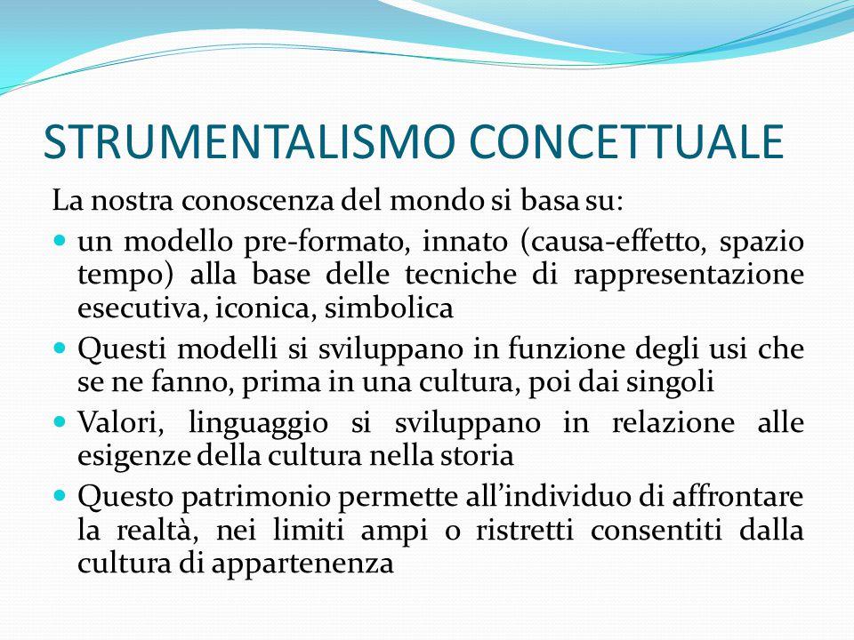 STRUMENTALISMO CONCETTUALE
