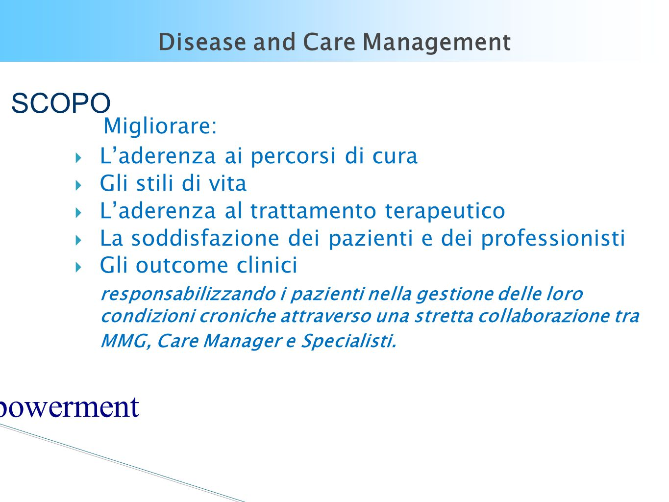 Disease and Care Management