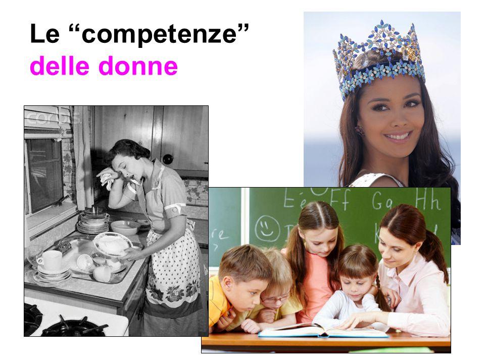 Le competenze delle donne