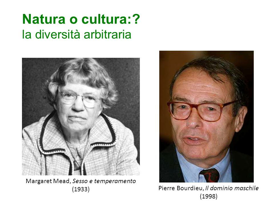 Natura o cultura: la diversità arbitraria