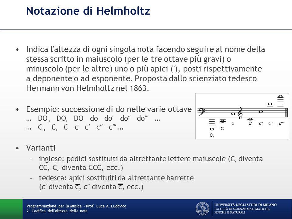 Notazione di Helmholtz
