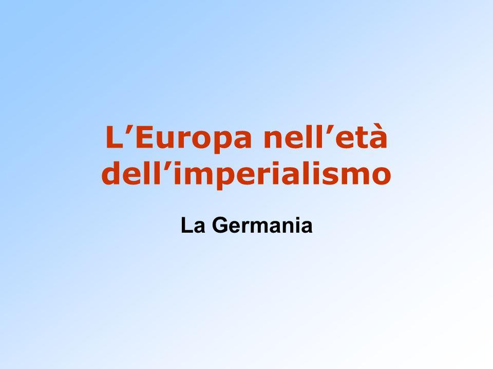 L'Europa nell'età dell'imperialismo