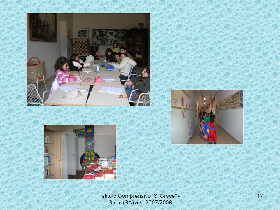 Istituto Comprensivo S. Croce - Sapri (SA) a.s. 2007/2008