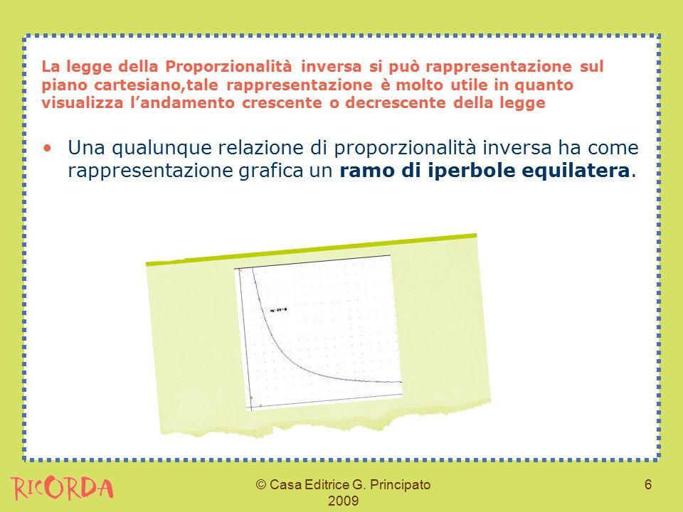 Legge o relazione della proporzionalit diretta e inversa - Legge piano casa marche ...