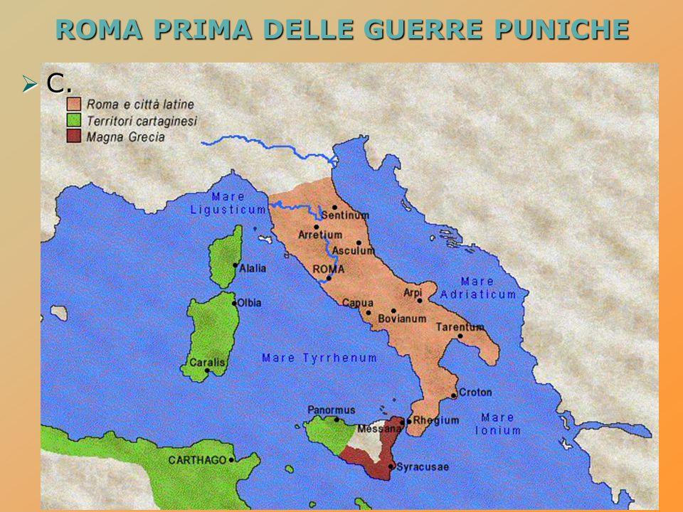 ROMA PRIMA DELLE GUERRE PUNICHE