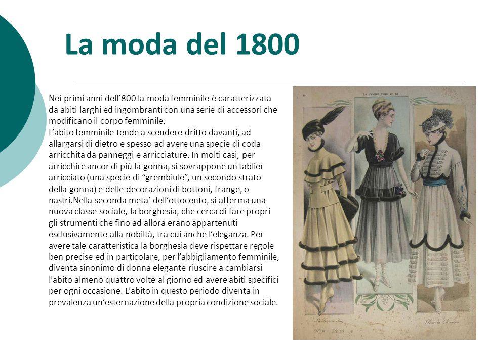 La moda del 1800