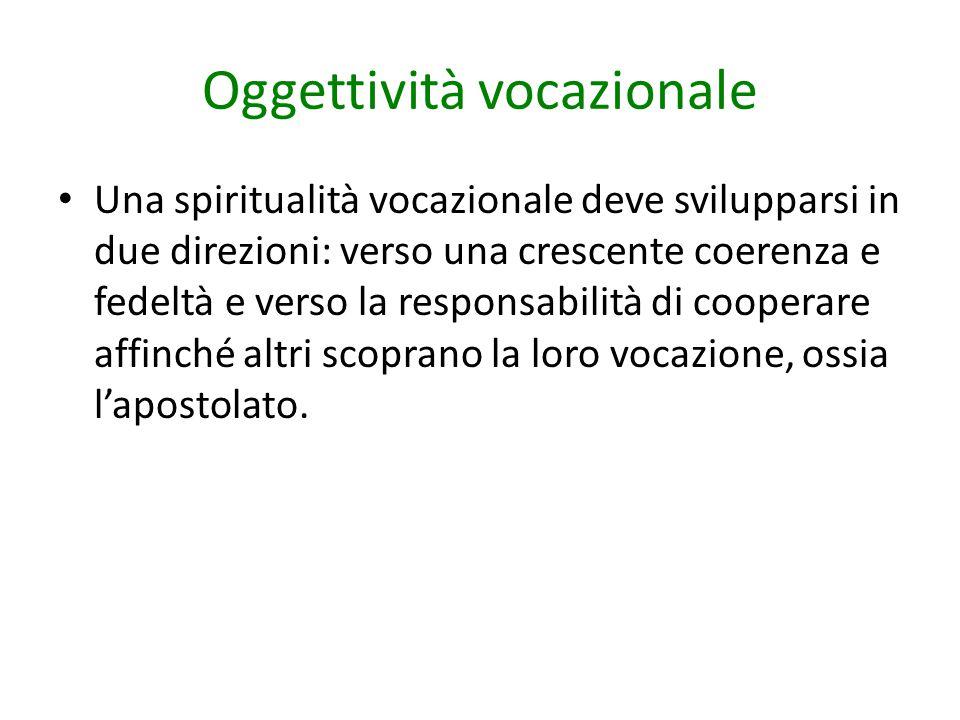 Oggettività vocazionale