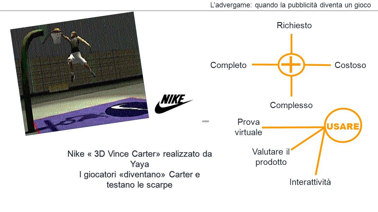 Nike « 3D Vince Carter» realizzato da Yaya