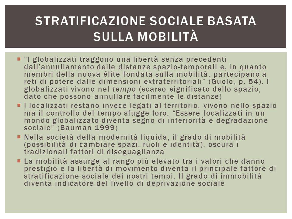 Stratificazione sociale basata sulla mobilità