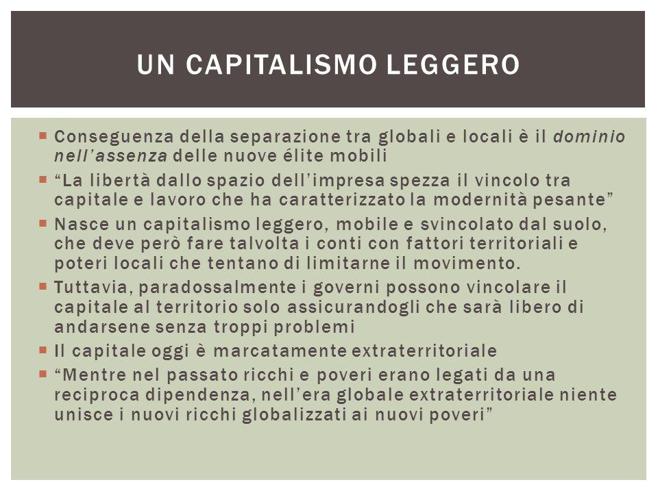 Un capitalismo leggero